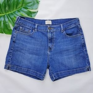 Levi's Denim Jean Denim Cotton Shorts EUC!